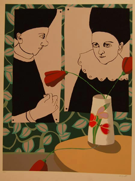 Louise SCOTT - 2 personnages
