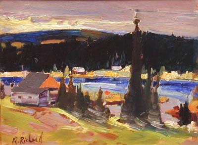 René RICHARD - Paysage du Nord