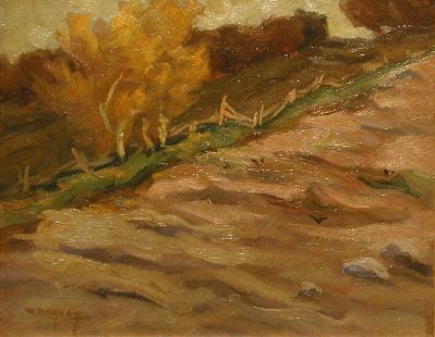 Paysage d'automne (C.1935) - Rodolphe Duguay