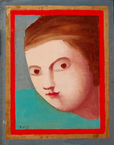 Louise SCOTT - Portrait (1980)