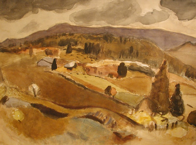Goodridge ROBERTS - Lake Orford- 1944-