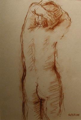 Stanley COSGROVE - Étude de nu (70's)