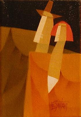 Claude LESAUTEUR - Marchant vers l'automne