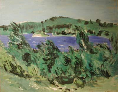 Goodridge ROBERTS - Lac Bleu- Saint-Alphonse (1941)
