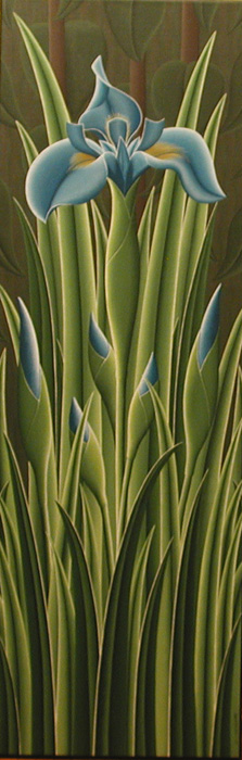 Christian DEBERDT - L iris bleu (2005)
