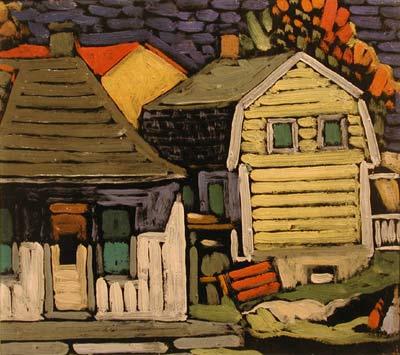Paysage à Ste-Rose (1936) - Marc-Aurèle Fortin