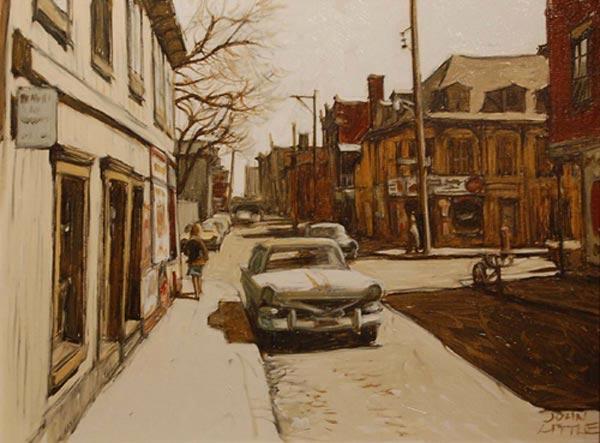 John LITTLE - Rue Beaudry à la Gauchetière (1983)