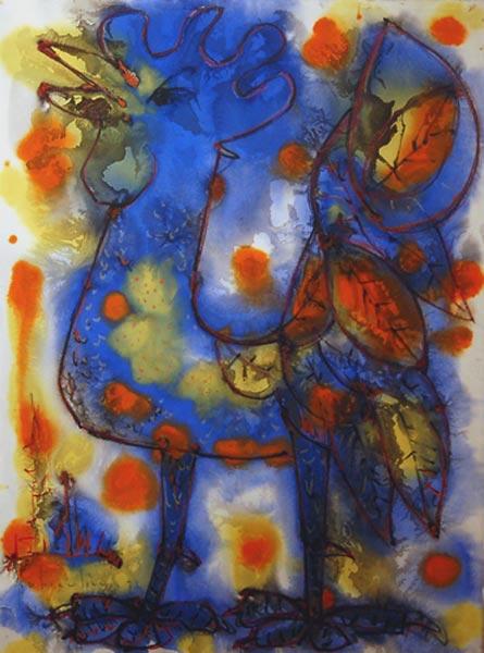 Paul-Vanier BEAULIEU - Coq bleu (1972)