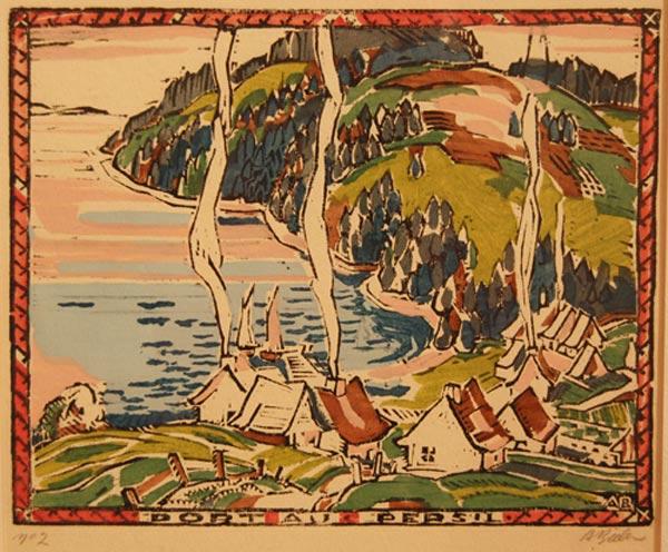 Port au persil (c. 1928) - André Biéler