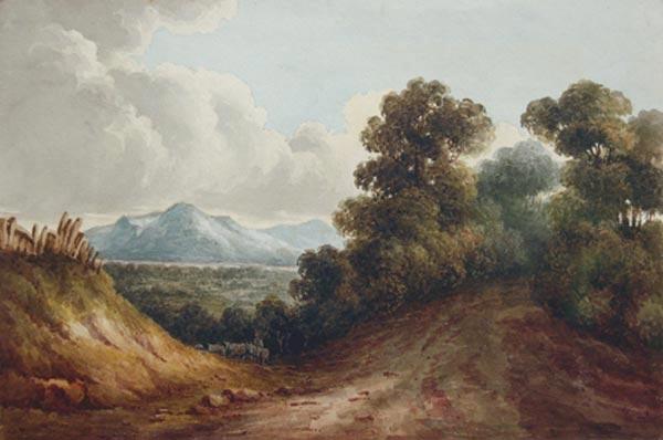 Anonyme  - Le Mont St-Anne (c. 1835)