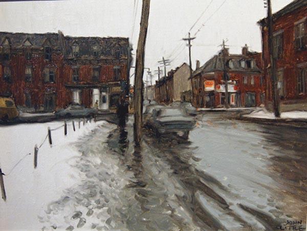 John LITTLE - Ottawa Street, Montreal (1973)