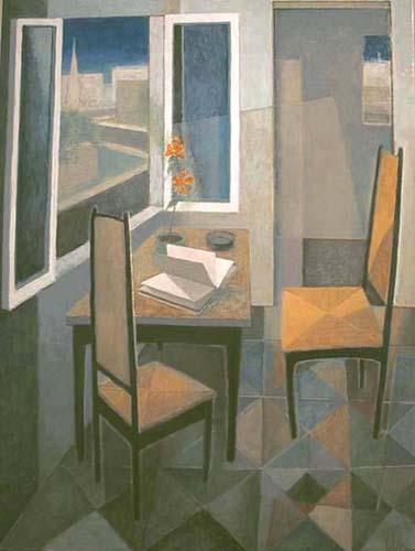 Pierre LEFEBVRE - Les chaises jaunes