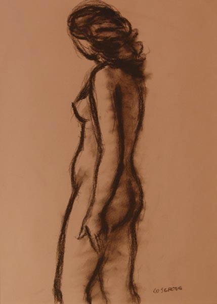 Stanley COSGROVE - Étude de nu (c. 1965)