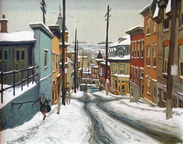 Rue Ste Geneviève, Québec (1968) - John Little