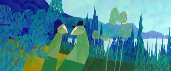 Claude LESAUTEUR - Verdure d'hiver (2007)