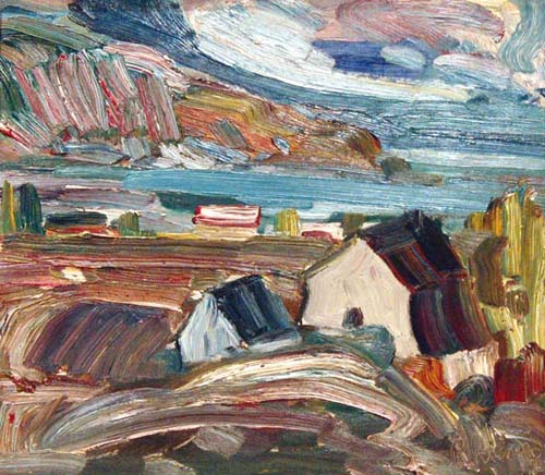 Baie-St-Paul (c. 1952) - René Richard