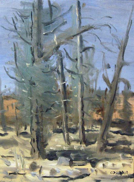 Forêt (1962) - Stanley Cosgrove