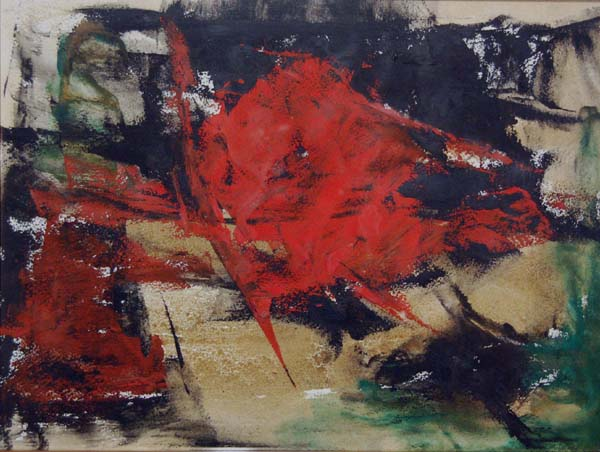 Rita LETENDRE - Composition (1960)