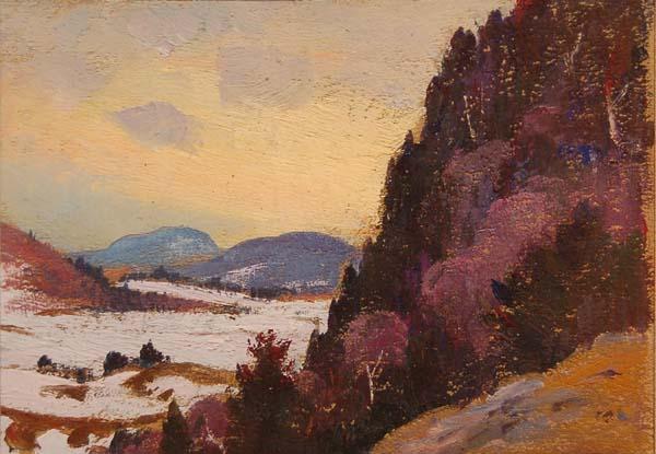 Robert PILOT - Paysage d'hiver