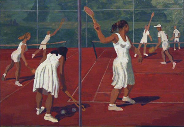 Tennis Club (c.1960) - Philip Surrey