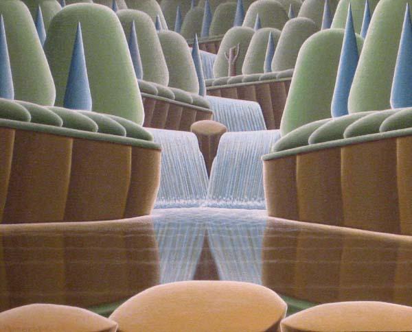 Christian DEBERDT - Étude de cascades (2009)