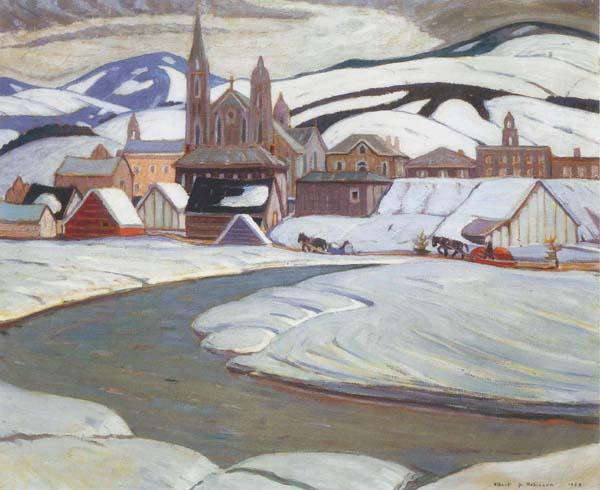 Baie St-Paul (1928) - Albert Henry Robinson