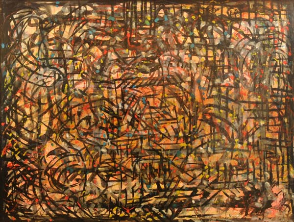 Fritz BRANDTNER - Abstraction (c. 1950)