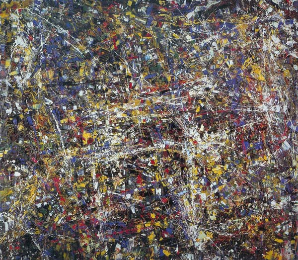 Quinze Chevaux Citroên (1952) - Jean-Paul Riopelle