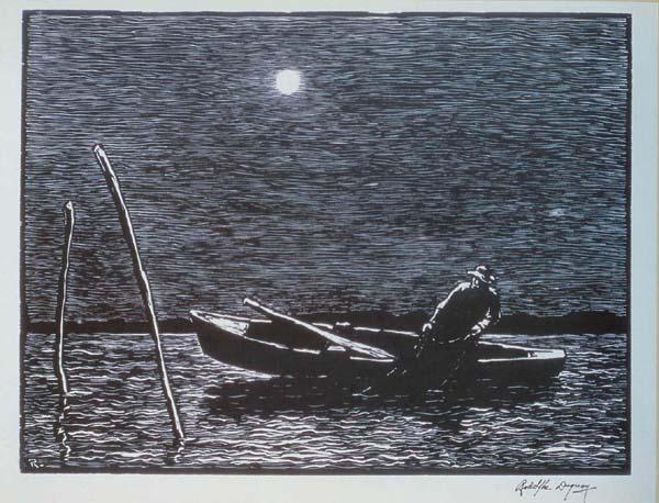 Rodolphe DUGUAY - La levée des filets (1926)