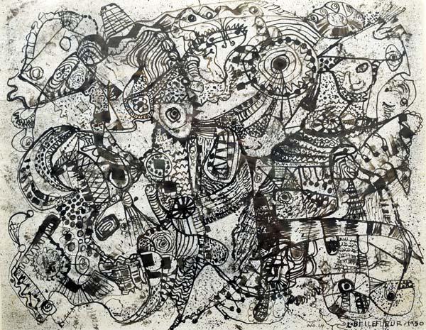 Les Oiseaux Sphinx (1950) - Léon Bellefleur