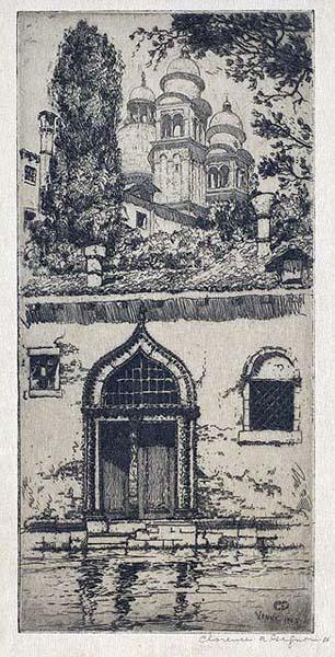 Clarence A. GAGNON - La Salute, Venice (1906)
