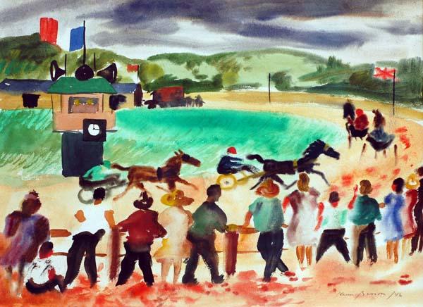 Henri MASSON - Courses près de Gatineau (1946)