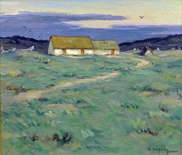 Rodolphe DUGUAY - Paysage d'été (c. 1930)