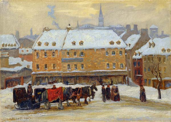 Robert PILOT - Old Quebec (1929)