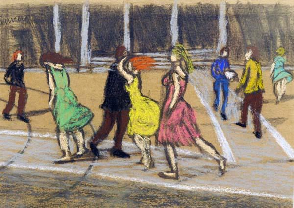 Philip SURREY - Passage pour piétons, c. 1955 (Parc Westmount)