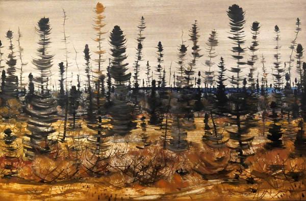 Près du lac (1956) - Jacques de Tonnancour