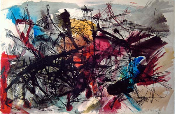 Untitled (1946) - Jean-Paul Riopelle