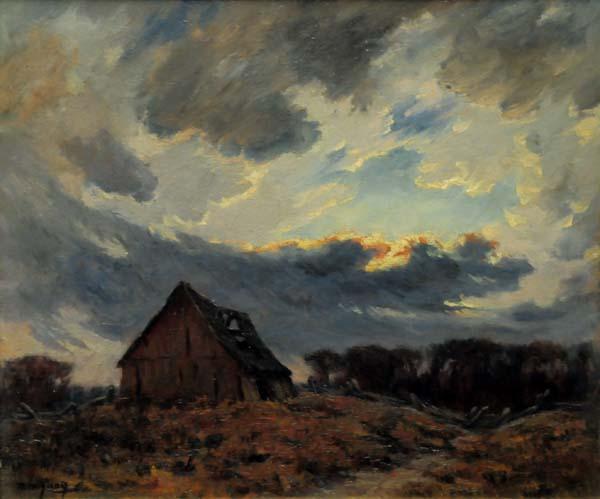 Rodolphe DUGUAY - Après-midi d'orage (c. 1930)