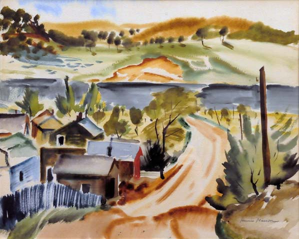 Henri MASSON - Paysage de Gatineau (c. 1945)