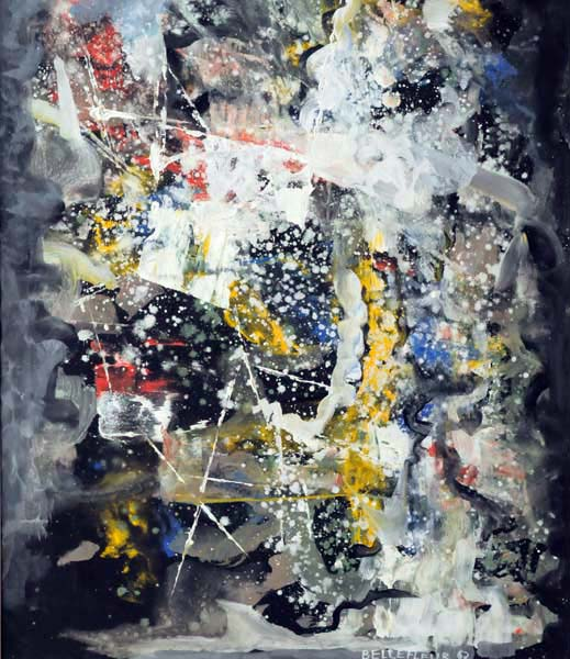 Léon BELLEFLEUR - Composition (1962)