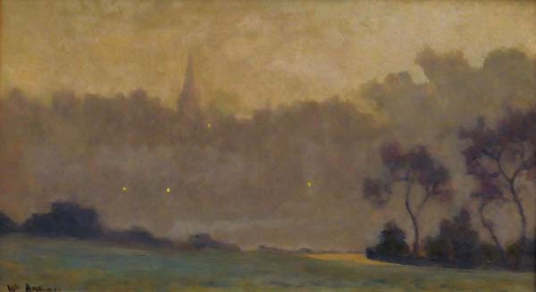 William BRYMNER - Paysage a St Eustache (c. 1900)