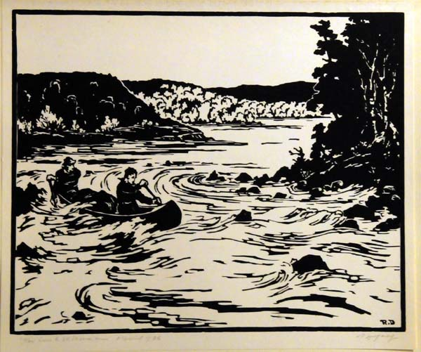 Rodolphe DUGUAY - Sur le St-Maurice (1936)
