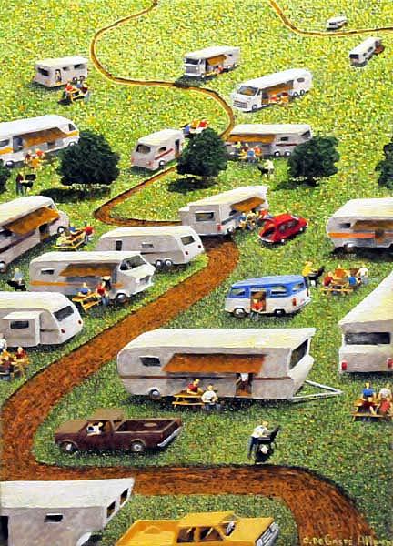Camping-Caravane - Claude De Gaspé Alleyn