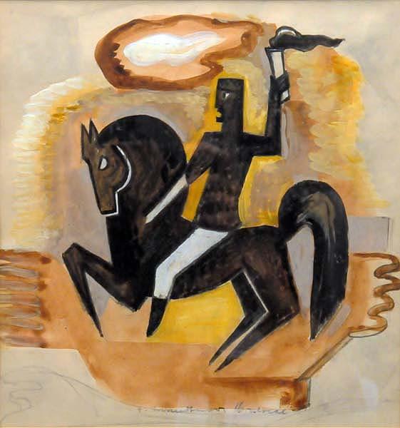 Fritz BRANDTNER - Olympic Rider (c. 1938)