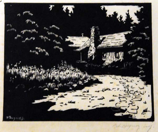 Rodolphe DUGUAY - Sans titre (Maison) 1935