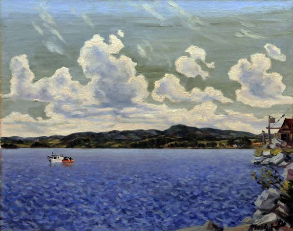 Jean DALLAIRE - Breezy Shoreline, Lac-St-Jean (1936)