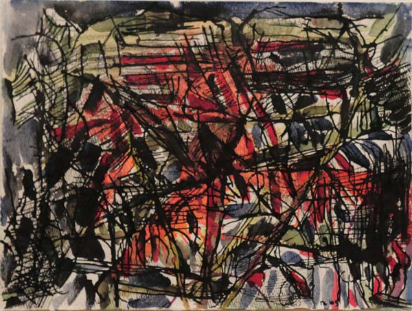 Composition (1965) - Jean-Paul Riopelle