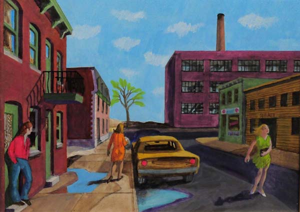 Sunday Morning, St-Henri (c. 1980) - Philip Surrey