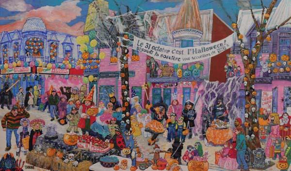 L'Halloween à Pointe St-Charles, 2016 - Miyuki Tanobe