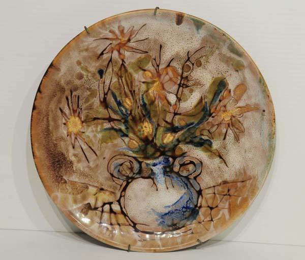 Jordi BONET - Assiette en céramique (c. 1968)